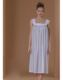 Ночная сорочка Celestine ANASTASIA-1  голубая