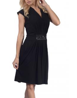 Платье FERAUD 3155547 (черное, розовое, салатовое)