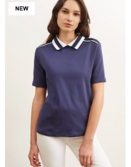 Рубашка-поло Saint James 9490 (белая)